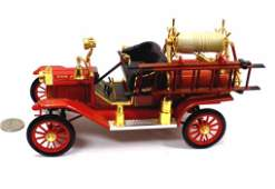 1914 FORD MODEL T DIE CAST METAL FIRE TRUCK / CAR