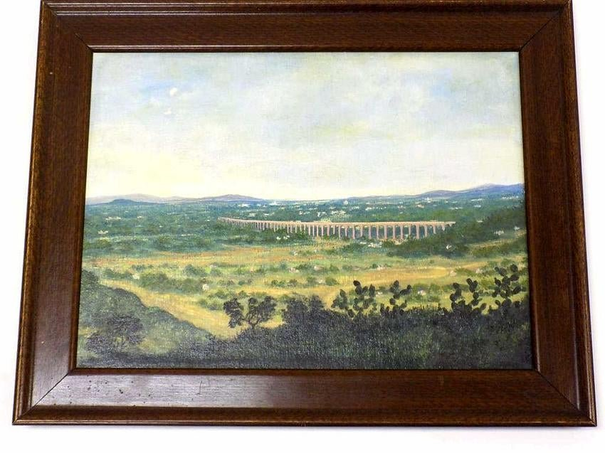 JOAQUIN CLAUSELL - PANORAMIC LANDSCAPE PAINTING
