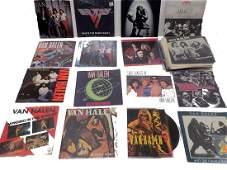 VAN HALEN 45 RPM VINYL RECORD GROUP w/ PROMOS