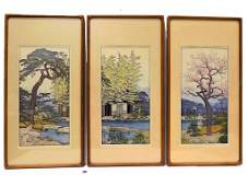 TOSHI YOSHIDA - FRIENDLY GARDEN SIGNED PRINT SET