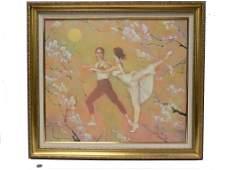 MARC KLIONSKY - DANCERS PAINTING