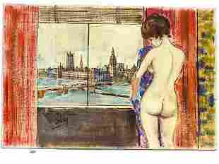 SILVA - HOUSES OF PARLIAMENT NUDE PAINTING