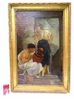 FOSTER - 19TH CENTURY ITALIAN ARTIST PAINTING