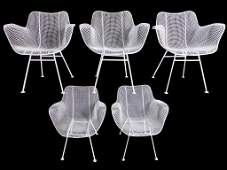 BERTOIA ? MIDCENTURY MODERN 5 CHAIR SET
