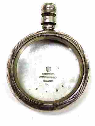 WALTHAM SOLID COIN SILVER POCKET WATCH CASE