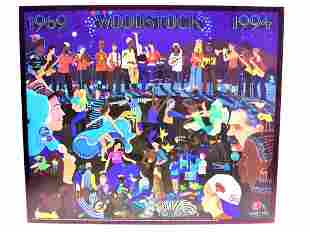 MIGHTY LEE - SPIRIT OF WOODSTOCK LITHOGRAPH