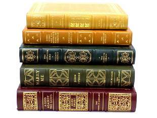 FIRST EDITION SOCIETY TOOLED LEATHER BOOKS LOT