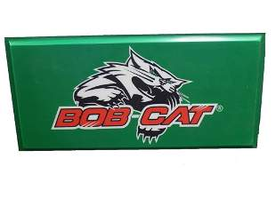 BOB CAT DEALERSHIP ADVERTISING SIGN LIGHT