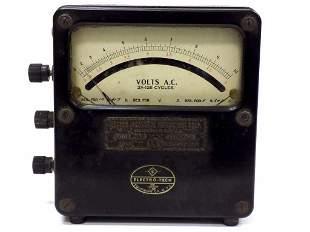 WESTON ELECTROTECH ELECTRICAL VOLTAGE GAUGE