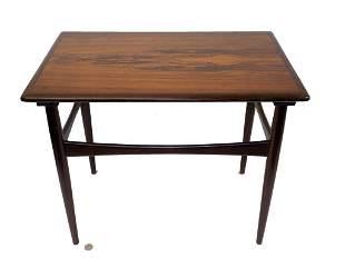 MIDCENTURY MODERN DIMINUTIVE ROSEWOOD TABLE