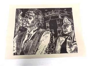 DANIELLE CHASON - POP ART NIGHTCLUB LITHOGRAPH