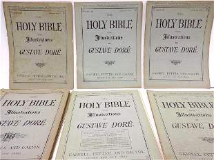 GUSTAVE DORE ILLUSTRATED HOLY BIBLE PAMPHLETS