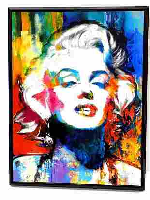 MARILYN MONROE POP ART LITHOGRAPH