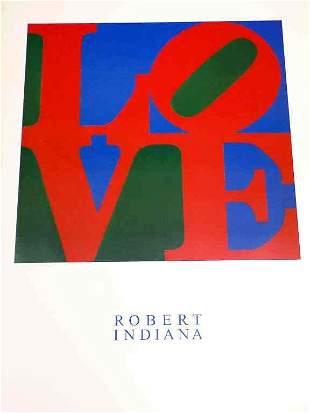 ROBERT INDIANA - LOVE POP ART LITHOGRAPH POSTER