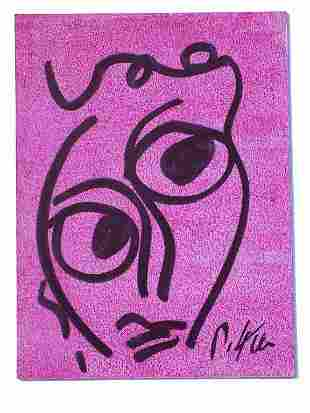 PETER KIEL - ABSTRACT FACE PAINTING