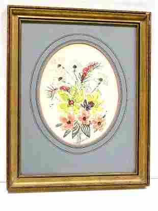 LOUISE FERGUSON - FLOWERS WATERCOLOR