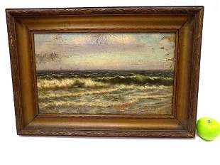 GARDNER ? SAILBOATS ON THE OCEAN PAINTING