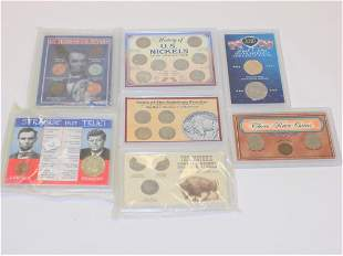 GROUP OF VARIOUS U.S. MINT COLLECTOR COIN SETS
