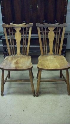 89A: LEOPOLD STICKLEY COUNTRY  WINDSOR CHAIRS - 2