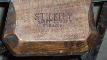 89A: LEOPOLD STICKLEY COUNTRY  WINDSOR CHAIRS - 4