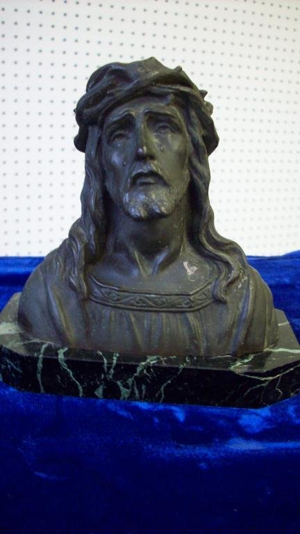 16X: JESUS & MARY BRONZE SCULPTURES