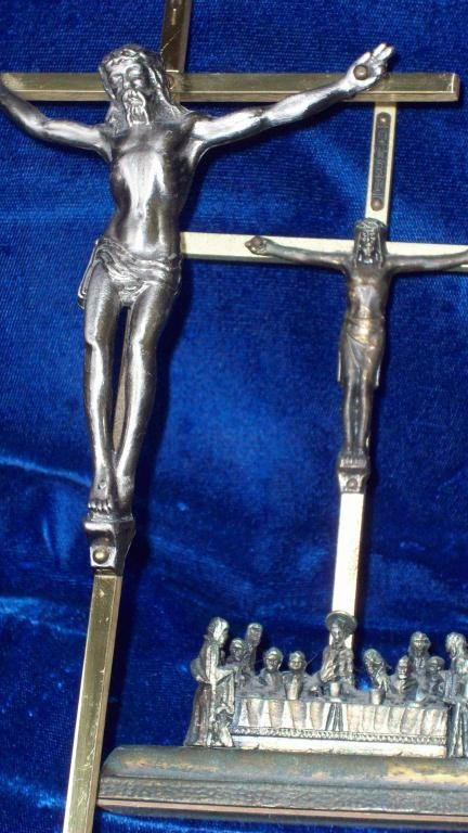 21X: JESUS LAST SUPPER & CRUSIFIXION CROSS