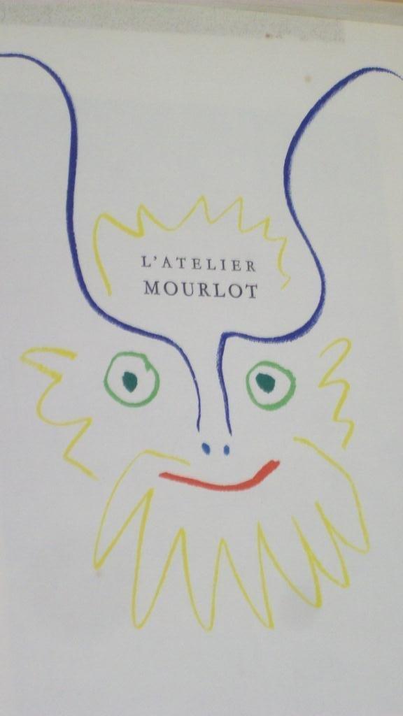 706: PICASSO L'ATELIER MOURLOT LITHOGRAPH