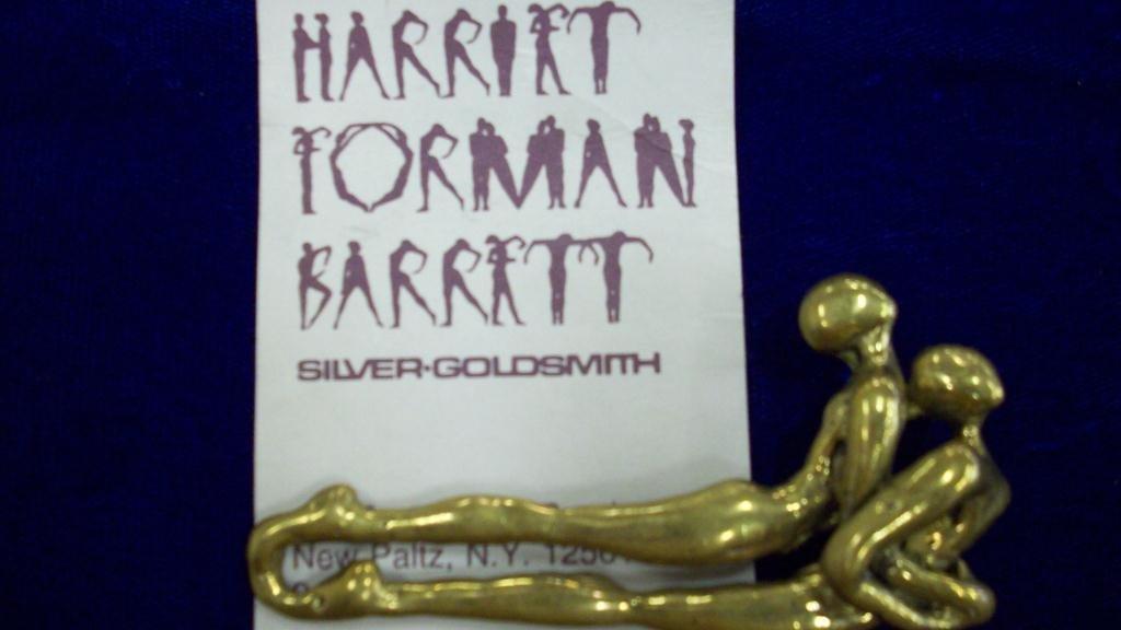 707: FORMAN BARRETT MODERN NUDES BUCKLE