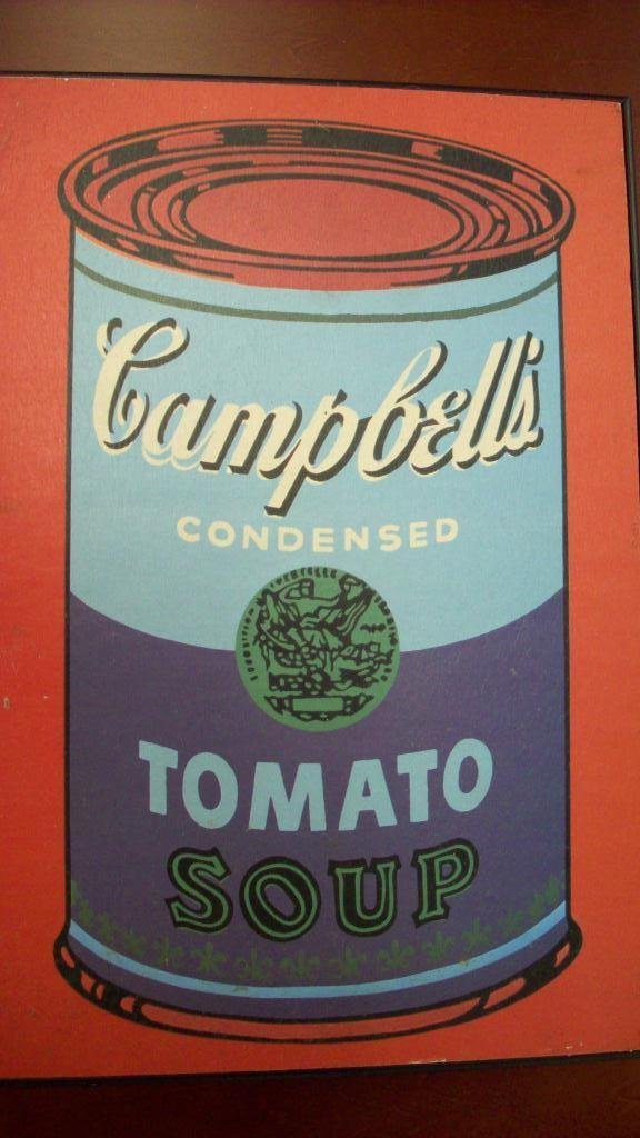 711: ANDY WARHOL CAMPBELL SOUP CAN LITHOGRAPH