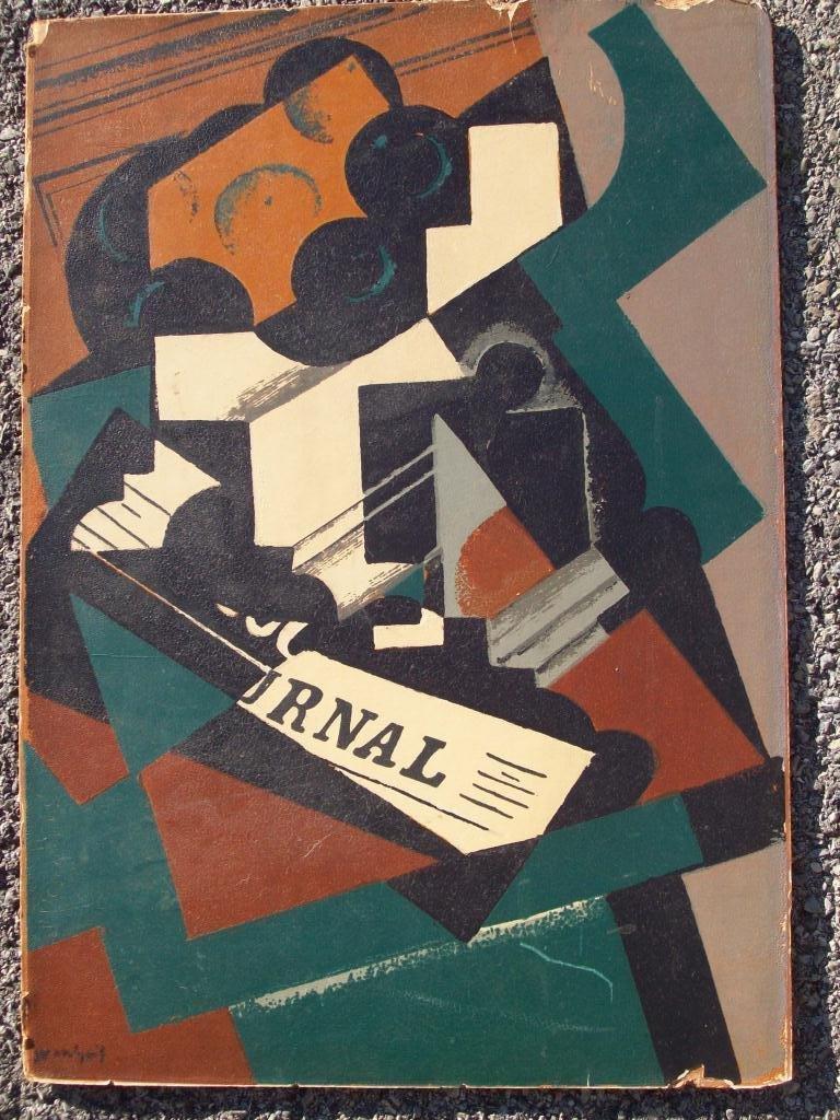 719: JUAN GRIS - CUBIST ART JOURNAL POCHOIR