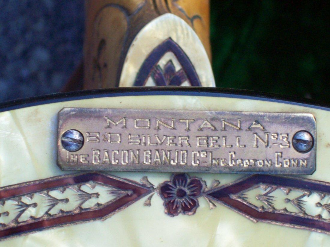 918: MONTANA BACON & DAY B&D SILVER BELL No 3 BANJO - 10