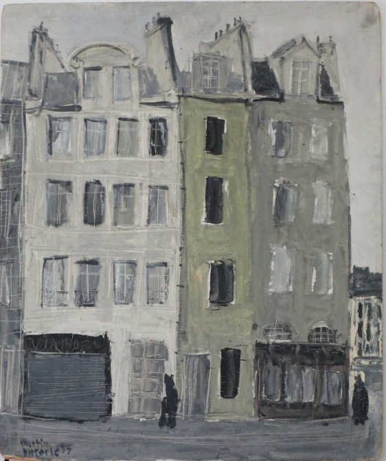 MARTIN DIETERLE - PARIS MOOD 2  - PAINTING