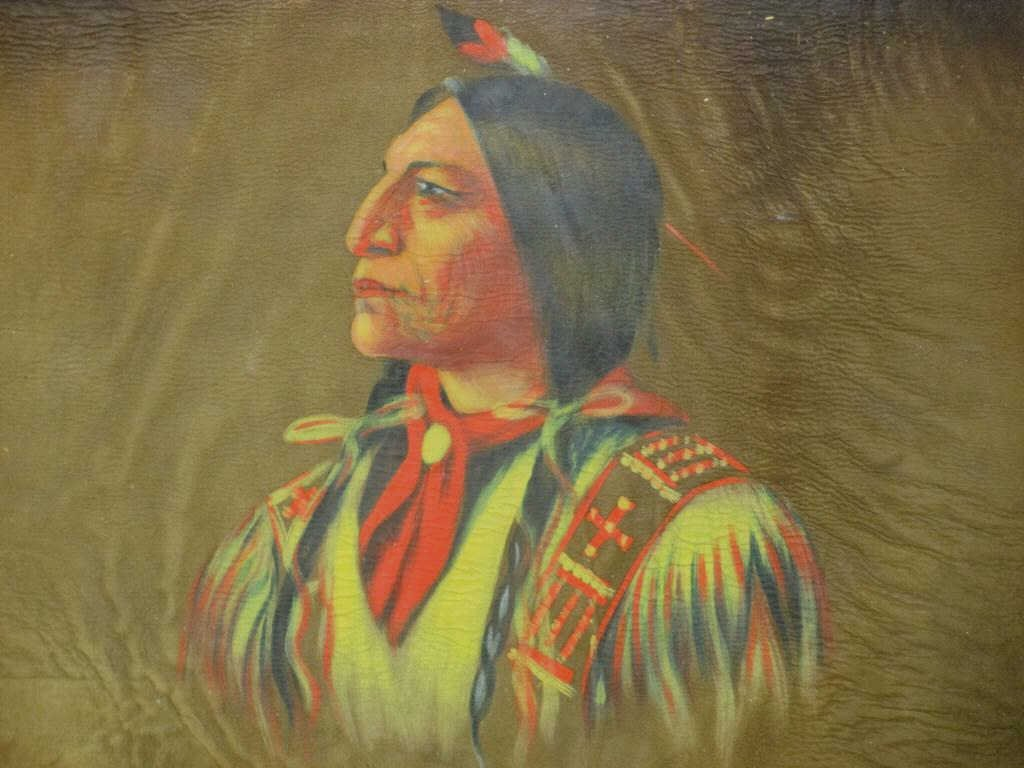 MCKENDREE SNYDER - AMERICAN INDIAN PAINTING