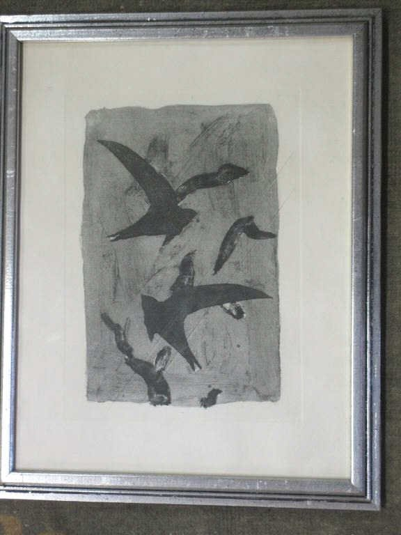 BRAQUE - BIRDS IN FLIGHT - ETCHING AQUATINT
