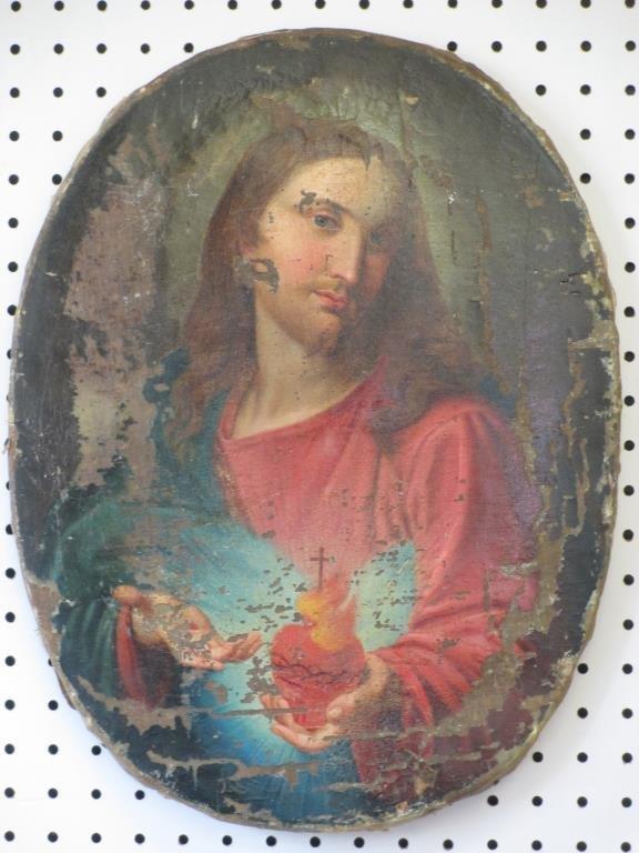 ITALIAN SCHOOL JESUS OLD MASTER PAINTING
