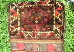 19TH C. PERSIAN MAFRASH TENT BAG