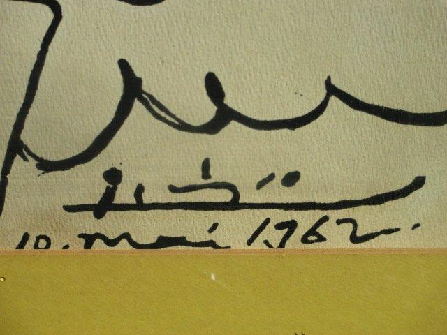 PICASSO DOVE OF PEACE 1962 SILKSCREEN - 2