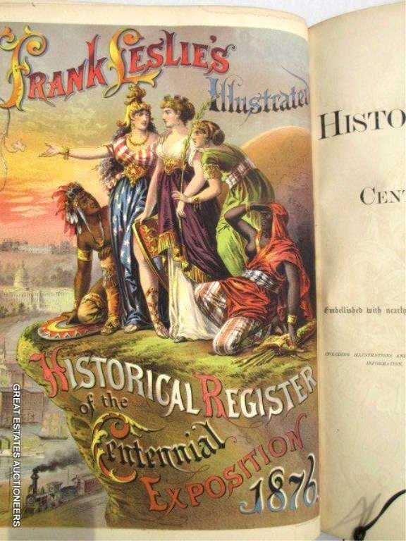 FRANK LESLIE'S CENTENNIAL EXPOSITION 1876