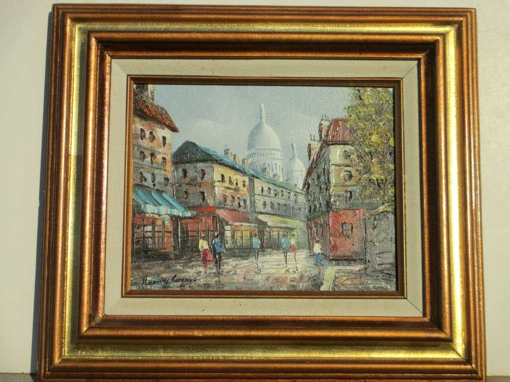 HENRY ROGERS - FRENCH STREETS PAINTING