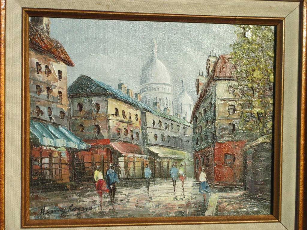 HENRY ROGERS - FRENCH STREETS PAINTING - 2