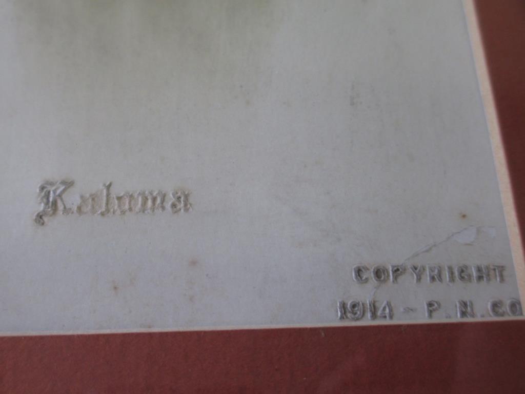KALOMA - ORIGINAL 1914 PHOTOGRAPH - 5