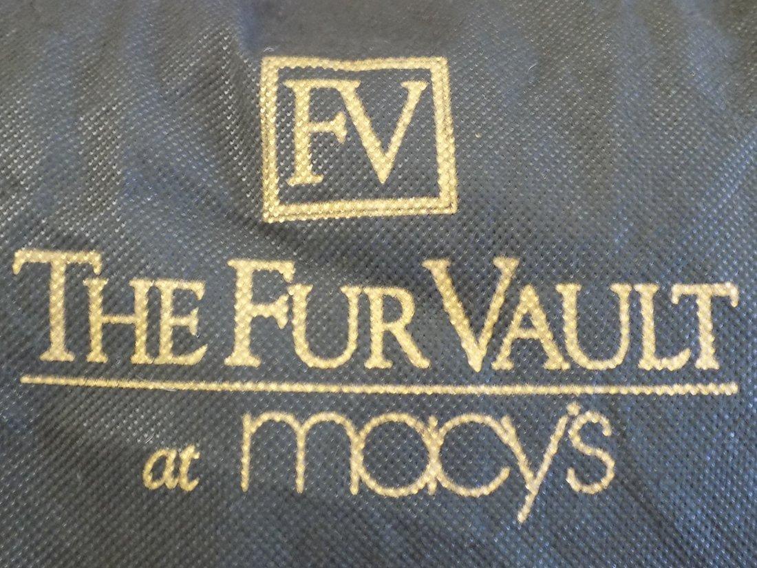MACY'S FUR VAULT LADIES MINK COAT - 4