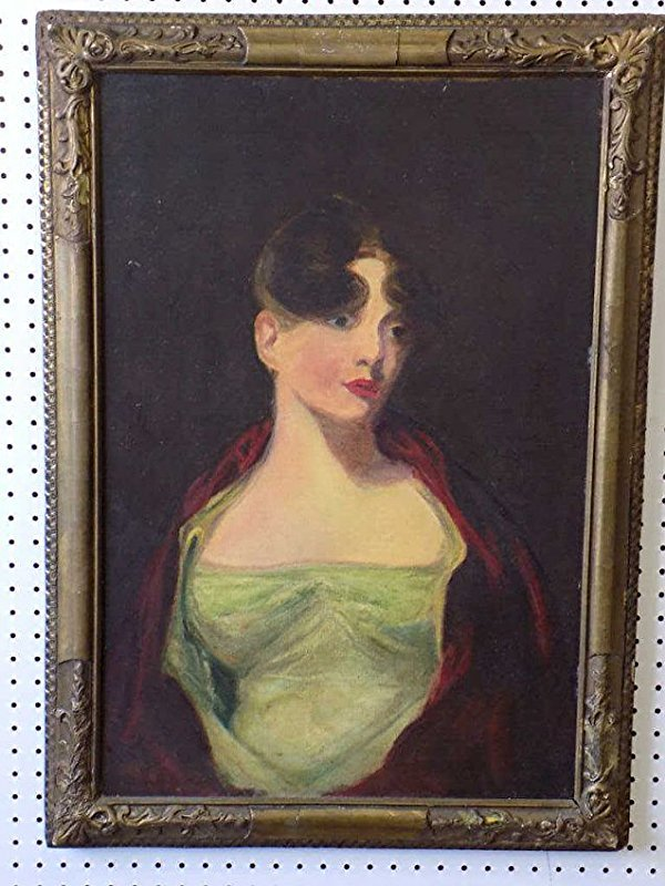 THOMAS SULLY - ANNA HOWELL PAINTING