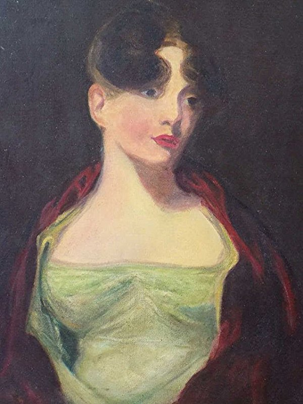 THOMAS SULLY - ANNA HOWELL PAINTING - 2