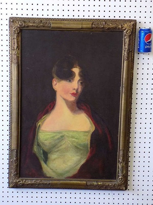 THOMAS SULLY - ANNA HOWELL PAINTING - 3