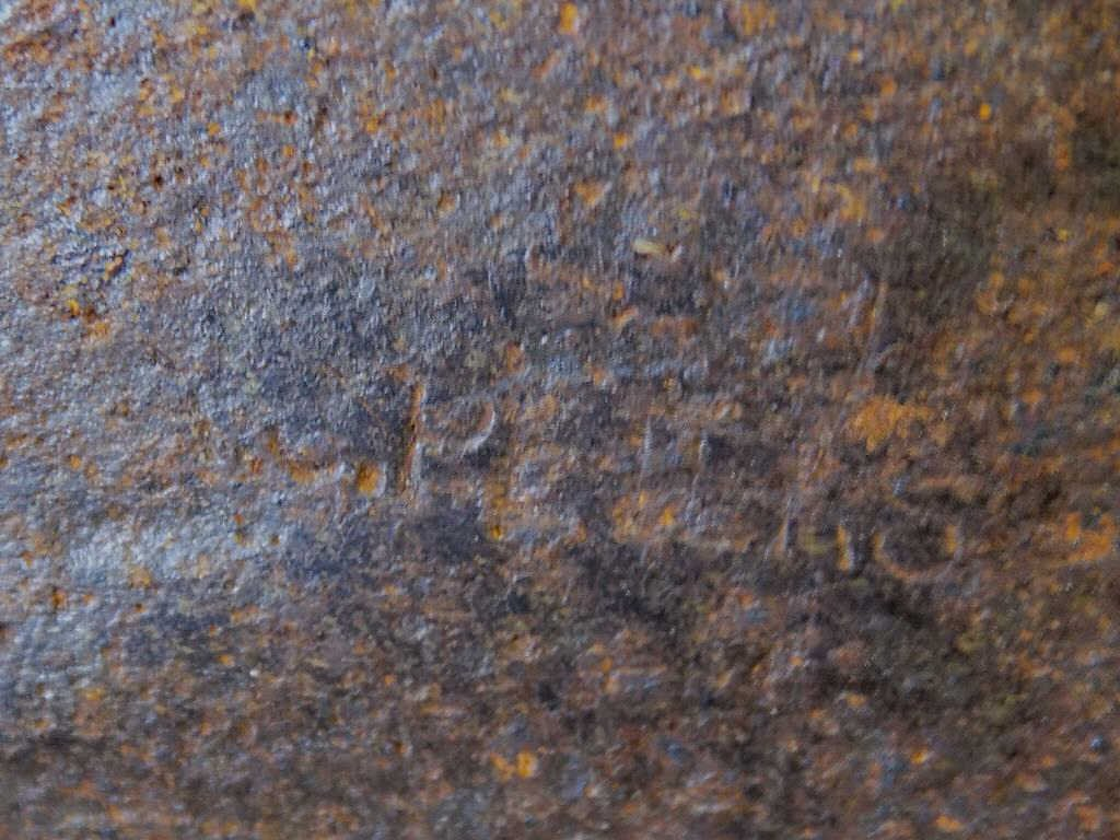 RARE A.J. PETERS NAUTICAL WHALING BLUBBER SPADE Rare - 2