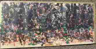 RIOPELLE - DERRIERE LE MIROIR ABSTRACT LITHOGRAPH Jean