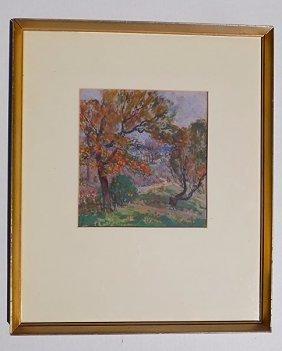 Ilah Kibbey - Landscape Gouache Painting