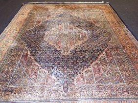 Fine Kerman / Kirman Silk Oriental Rug