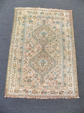 Persian Geometric Prayer Rug